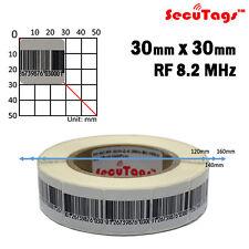 8.2Mhz Eas Antitheft Barcode soft Labels (30x30) Checkpoint Paper Sensor 20000pc
