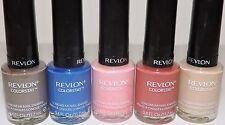 5 LOT REVLON COLORSTAY GEL LONGWEAR NAIL ENAMEL All Different Fingernail Colors