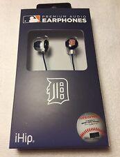 New MLB Baseball Detroit Tigers IHIP Ear buds Earphones