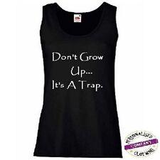 Cotton Blend Sleeveless T-Shirts Plus Size for Women