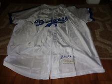 Jackie Robinson Size Xl Brooklyn Dodgers Jersey Jacket Baseball Bank of America