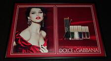 Felicity Jones 2012 Dolce & Gabbana Framed 12x18 ORIGINAL Advertising Display