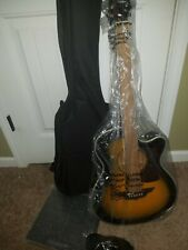 Keith Urban Acoustic Electric Guitar OnTour Guitar Pkg, Brazillian burst, Right