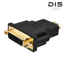 HDMI Male Plug To DVI 24+5 Female Socket Adapter HDTV Converter Gold Plated