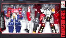 2x Transformers Generations OPTIMUS PRIME & MEGATRON PLATINUM EDITION RRP £100
