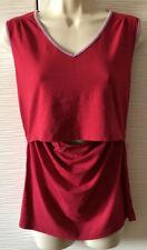Boob Pink Nursing Shirt Tee Top Size L