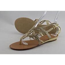 Sandalias y chanclas de mujer Unisa color principal oro sintético