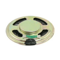 "1.4"" Diameter Aluminum Shell Round Internal Magnet Speaker 8 Ohm 0.5W SS"
