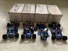 Lot of 4 VINTAGE rare RC BRP Racing 1/18 SCALE Supercar 18V2M