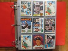 Lot of  500 CAL RIPKEN JR. Baseball  Cards(1982-T -2001/in Clear sheets/Notebook