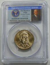 2014 D Herbert Hoover Presidential Dollar Coin PCGS MS66 Position A