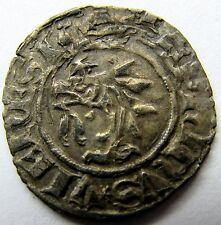 - DAUPHINE - Denier au dauphin - Charles VII - Crémieu - 1422-1440
