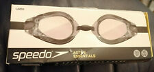 Speedo Black Goggles - New and Boxed