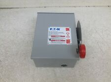Eaton Cutler Hammer DH361URK-RS-CSA 30 Amp 600 VAC Safety Switch Disconnect (OK)