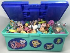 Littlest Pet Shop Box Lot LPS Random Grab Bag 10 Pets Toy Dog Cat Fish Bird