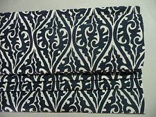 Pottery Barn Gretchen Roman Shade Navy Blue 36x64 Cordless Defect Read Descri