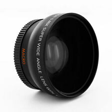 HD Wide Angle Lens + Macro for Canon Vixia HF100 HF11 HF20 HF200 HG20 HG21 HV10