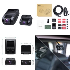 New listing Dual Dash Cam 1080p Hd Front & Rear Camera 6 Lane 170° Wide Angle Lens Night Vis
