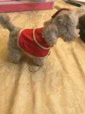 VinTage Gund Dog tagged Mohair with coat and hat