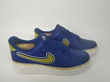 Nike Air Force 1 '07 LV8 Sport- Mens- Size 10- [AJ7748-400]- Blue- Running Shoe