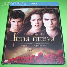 LUNA NUEVA BLU-RAY NUEVO Y PRECINTADO EDICION ESPECIAL 2 DISCOS STEELBOOK