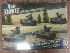 TEAM YANKEE FRENCH AMX ROLAND SAM BATTERY - 4 SAM LAUNCHERS -  NEW AND SEALED