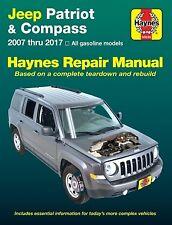 Jeep Patriot & Compass Repair Manual 2007-2017