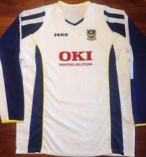 Jako PORTSMOUTH 2005/06 Away Xl L/S Soccer Jersey Football Shirt England Pompey
