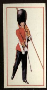 Tobacco Card, Carreras, Black Cat, MILITARY UNIFORMS, 1976, Ensign, #47