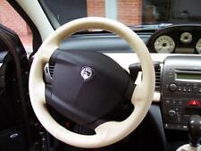 Coprivolante Lancia Ypsilon vera pelle beige