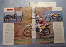 MOTOSPRINT989-PROVA / TEST-1989- KTM 250 GS - 3 fogli