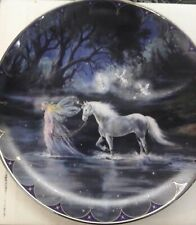 Bradford exchange Fairy Land limited edition collector plate Trails of Starlight