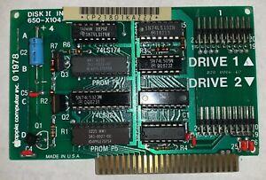 Apple II, II Plus (+), IIe - 20-Pin - Disk II Interface Card 650-X104 - Working