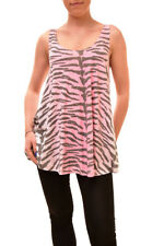 Wildfox Women's Authentic Tiger Sunset Sleeveless Shirt Size S RRP £76 BCF83