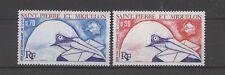 100 Jahre UPU, Tölpel, Birds - St.Pierre u.Miquelon - 496-497 - ** MNH 1974