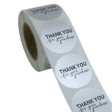 500pcs/roll Thank You for Your Purchase Stickers Packaging Seal Labels Handmade