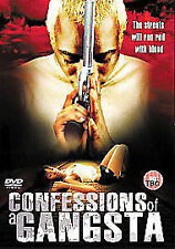 Confessions Of A Gangsta (DVD, 2007GANGSTAS ACTION STREET WARS!