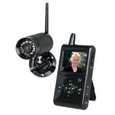 """Pentatech DF25 Funk Überwachungskamera Set 2,5"""" TFT-Monitor Infrarot Nachtsicht"""