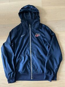 Nike Storm fit USA Hockey Team issued Men Jacket Hoodie Size Large