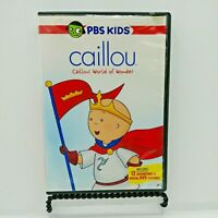 Caillou - Caillous World of Wonder (DVD, 2006)