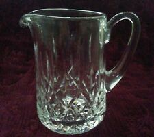 Waterford Crystal LISMORE 32 oz Jug/Pitcher - Signed - FREE U.S. SHIPPING