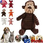 Pet Dog Chew Toy Squeaky Plush for Aggressive Chewers with Chew Durable Toys US