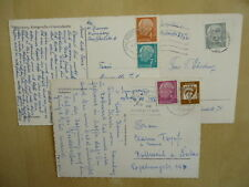 Briefmarken Deutsche Post In Briefmarken Aus Der Brd 1948 1954