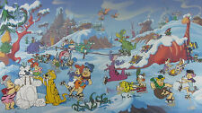 Bedrock Wonderland - MASSIVE Framed Limited Edition Cel - EP #12 of 30 - Signed!