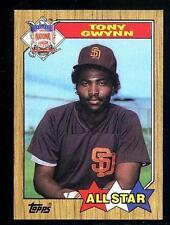 1987 Topps Tony Gwynn #599 Baseball Card MT/NRMT
