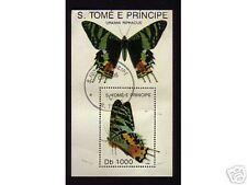 0487++S.TOME E PRINCIPE  PAPILLONS  N°2