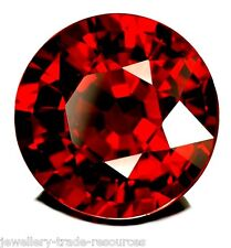 1mm ROUND NATURAL RED THAI GARNET GEM GEMSTONE