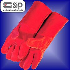 SIP  Welders Gauntlets High Temperature long gloves stove log Fire ashes