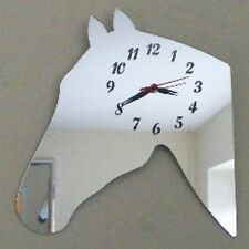 Horse's Head Clock - Acrylic Mirror (Several Sizes Available)