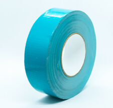"IPG AC36 - Medium Grade TEAL Duct Tape 3"" X 60Y (72mmX55M ) 11 Mil, 2 ROLLS"